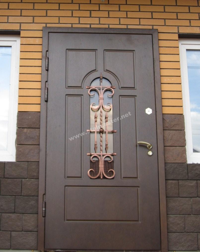 выбор уличной стальной двери