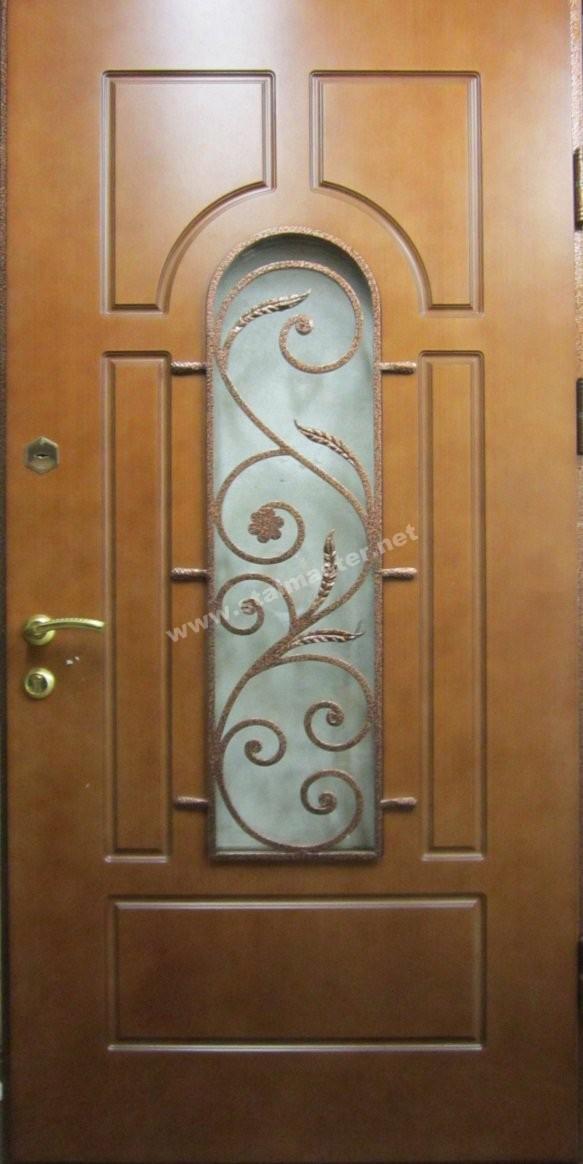 двери стальные входные с ковкой