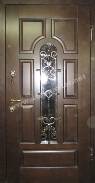 железные тамбурные двери со стеклом в щелково