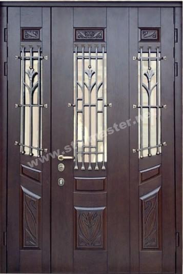 двери металлические тамбурные с фрамугой решетка в подольске
