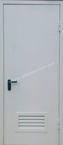 металлические двери с полимерным покрытием для электрощитовой