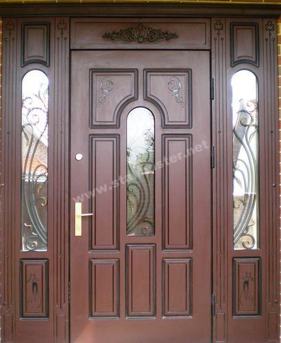 парадные входные двери в подъезд