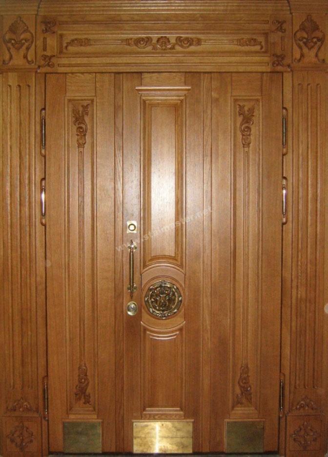 дверь дубовая парадная входная
