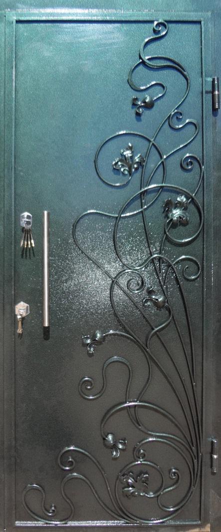 железные двери порошковым покрытием